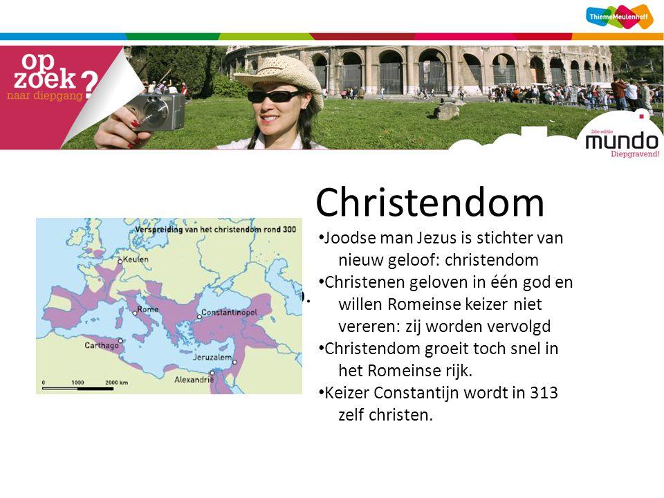Christendom [kaart verspreiding christendom, tijdwijzer p. 140]